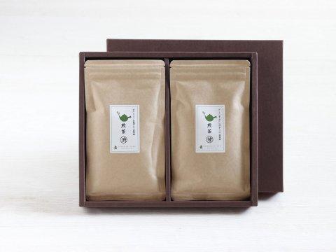 煎茶甘(まるあま)+煎茶渋(まるしぶ) セット - 花の木農場